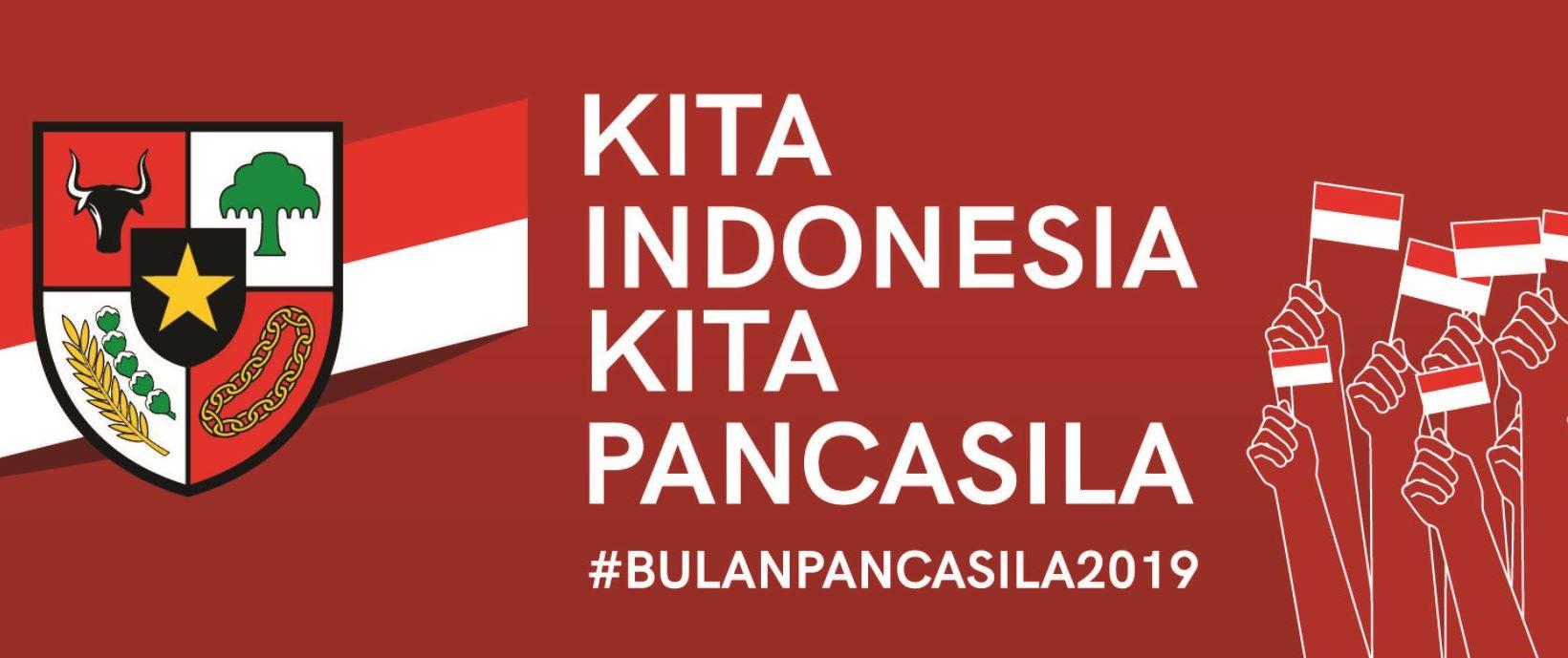 KITA  INDONESIA KITA  PANCASILA  #BULANPANCASILA2019